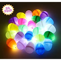 Easter Light Up Glow in the Dark Egg Hunt Perfect for Easter Decor or Easter Lights