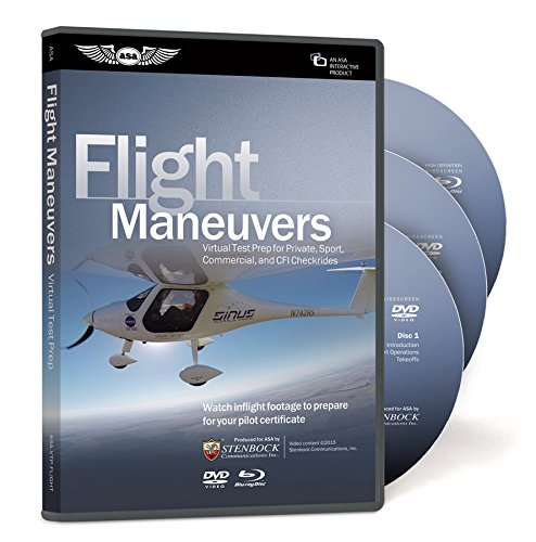 ASA Virtual Test Prep - Flight Maneuvers (Gps Instructional Dvds)