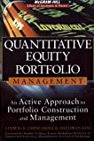 Quantitative Equity Portfolio Management 1st Edition