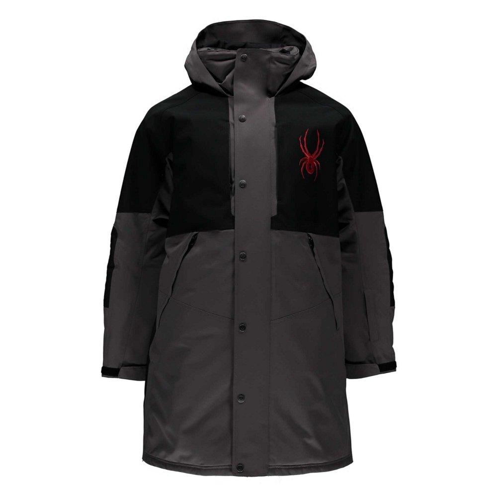 SpyderコーチのMens Insulated Ski Jacket B074W9G92N  ブラック Large
