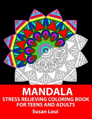 Mandala: Stress relieving Coloring Book For Teens And Adults: 35 Patterns Mandala Coloring Book For Beginners (Volume 1)
