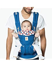 Ergobaby Baby Carrier (Omni 360), Classic Kitty (Blue)