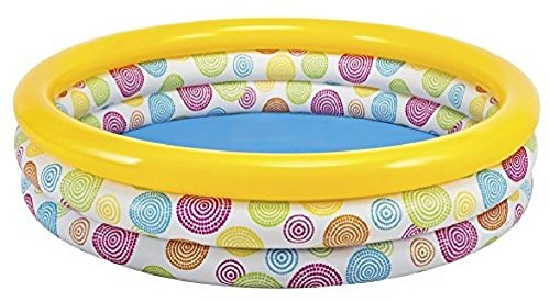 new-intex-large-sunset-glow-inflatable-pool-66-x-18