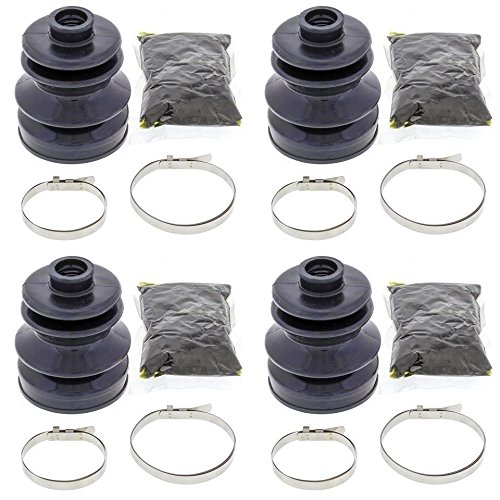 Complete Rear Inner & Outer CV Boot Repair Kit for Arctic Cat 500 EFI 4x4 w/AT 2013-2016 All Balls
