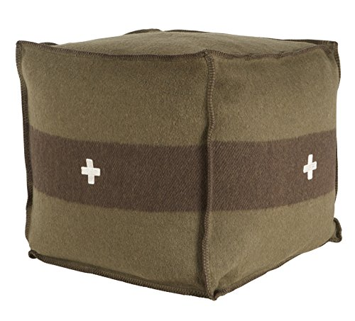 Swiss Army Pouf - Green/Brown by Bobo Intriguing Objects