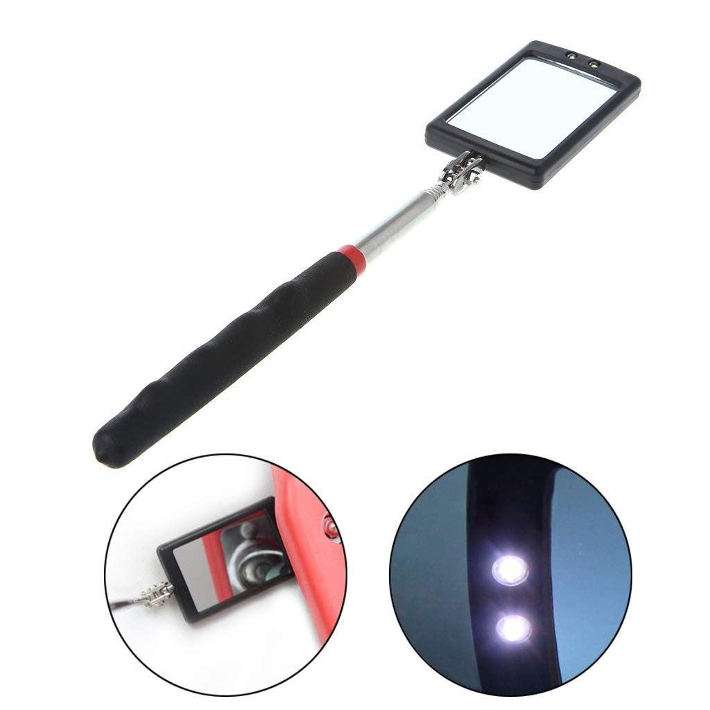 haia7k4k Automotive Telescopic Detection Lens Inspection Mirror Extending Angle View Tool