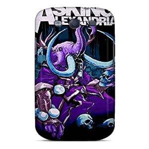 Awesome Avz9558CaGO Franiry79c24 Defender Tpu Hard Cases Covers For Galaxy S3- Asking Alexandria