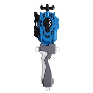 B Blesiya Burst String Launcher LR con Impugnatura,Accessori per Trottola - Blu