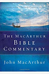 The MacArthur Bible Commentary Tapa dura