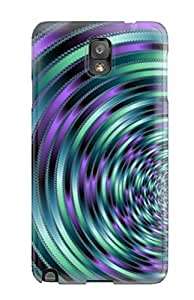 New Diy Design Fractal Abyss For Galaxy Note 3 Cases Comfortable For Lovers And Friends For Christmas Gifts