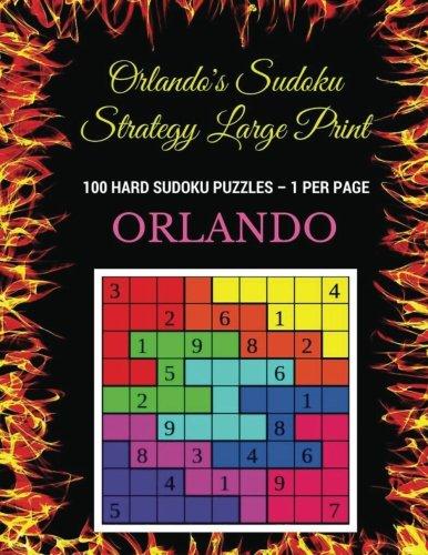 Orlandos Sudoku Strategy Large Print product image