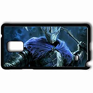 taoyix diy Personalized Samsung Note 4 Cell phone Case/Cover Skin Art Nazgul Armor Cloak Weapon Black
