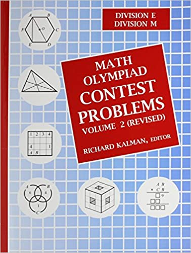 Amazon com: Math Olympiad Contest Problems, Volume 2 (REVISED