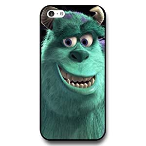 Diy Disney Cartoon Monsters University Black Hard Plastic For Iphone 5/5S Case Cover