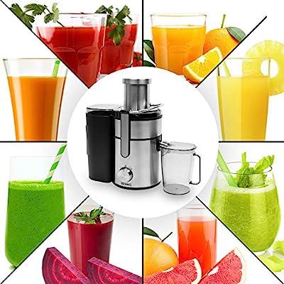 Duronic JE10 Licuadora de 1000W para frutas y verduras – 2 ...