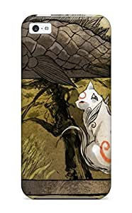 Iphone Case - Tpu Case Protective For Iphone 5c- Okami 6993298K21315110