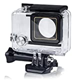 Beinhome GoPro Hero 3+ 4 Waterproof Case, Waterproof Protective Standard Housing Cover Shell [Dirt Proof] [Anti-Scratch] for GoPro (For Gopro 4/3+)