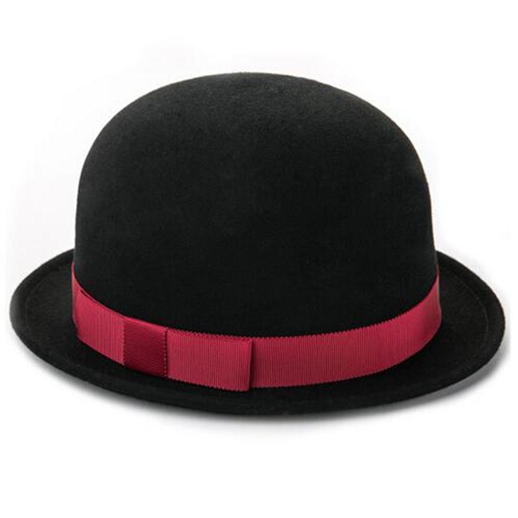 Mujer Moda Mantener caliente Sombrero pequeño Sombrero de alero corto Frío Sombrero 55cm-57cm