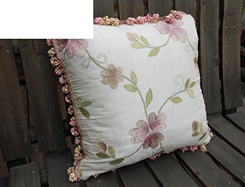 Athena Silk Pillow - Athena silk embroidered cushion covers/Pillow cover/Cushion cover/Pillow case-A 45x45cm(18x18inch)