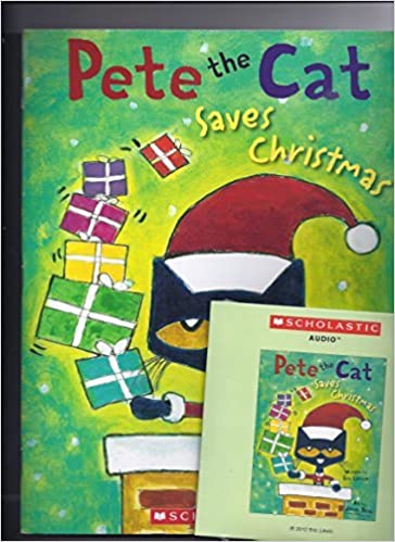 pete the cat saves christmas paperback audio cd set by eric litwin eric litwin 9780545805827 amazoncom books - Pete The Cat Saves Christmas