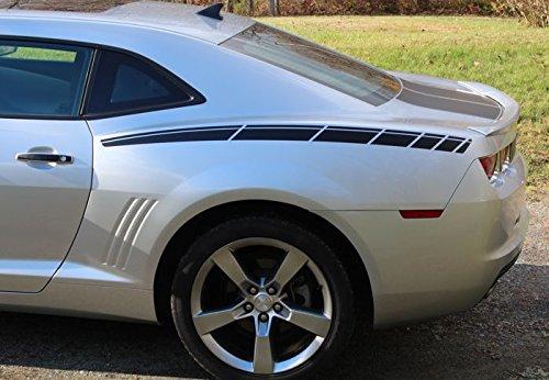 Reflective Concepts Rear Fender Accent Decal - 2010-2015 Chevrolet Camaro - (Color Hot - Chevrolet Fender Camaro