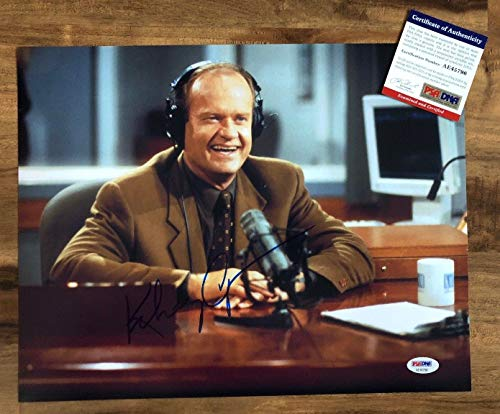 Crane Add (Kelsey Grammer Autographed Signed Memorabilia 11x14 Photo frasier Crane Cheers PSA/DNA Coa)
