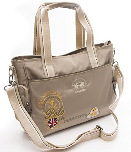 BORSA DONNA new riding shopping bag sand L61PW2100052016