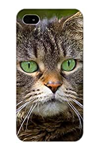 EpBMZX-933-JSHQc Guidepostee Animal Cat Durable Iphone 4/4s Tpu Flexible Soft Case With Design
