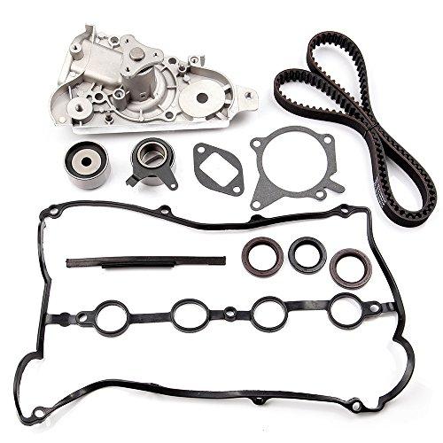 (SCITOO TBK179 Fits 94-00 Mazda Miata 1.8L 1.8 DOHC Timing Belt Kit Water Pump )