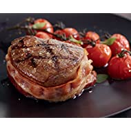 Kansas City Steaks 12 (4oz.) Super Trimmed Filet Mignon with Hickory Smoked Bacon