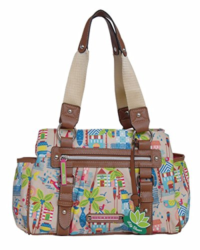 Bag Triple Purpose Bloom Satchel Lily Beach Multi Landon Section House 0OqwqF