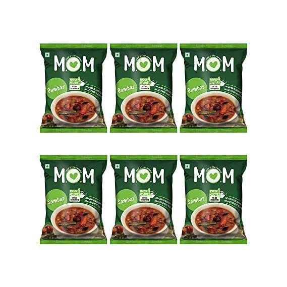 Meal of the Moment Sambar Pouch 6 x 60 g with Combo