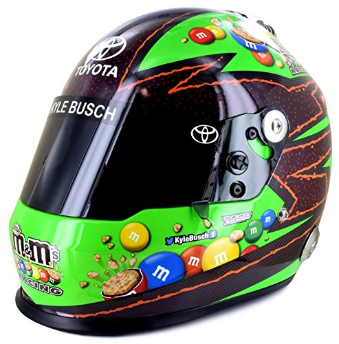 Kyle Busch Full Size Crispy M&M's Collectible NASCAR Replica Helmet