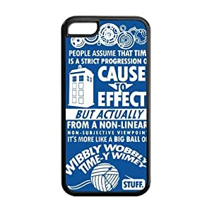 Generic Graffiti Tardis Police Call Box Doctor Who Case Cover for iphone 5/5s iphone 5/5s