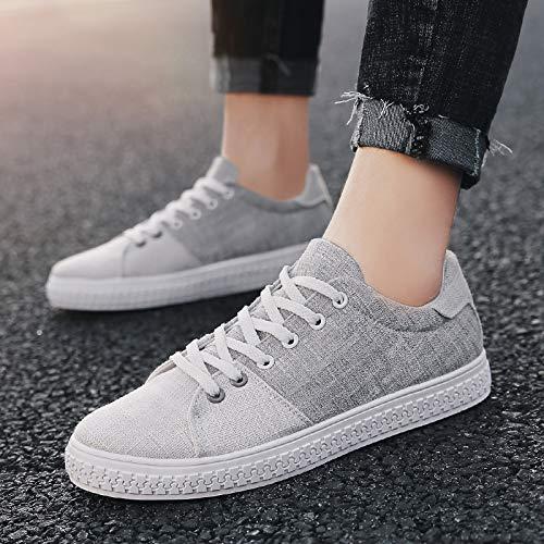 Zapatos De Tendencia Moda Lona Zapatillas Deporte Hombres Nanxieho Estudiante Ocio qfTZRnO