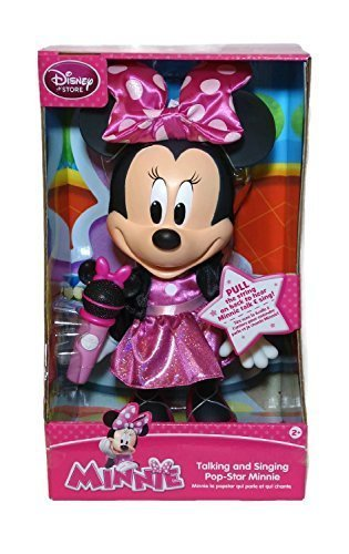13' Pull String (Minnie Mouse Pop Star Singing and Talking Doll)