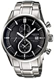 Casio Men's Edifice EFB503SBD-1AV Black Stainless-Steel Quartz Watch with Black Dial, Watch Central