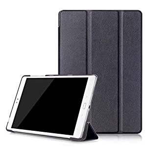 Sikye Ultra Leather Stand Case Cover For Asus Zenpad 3S 10 Z500M Tablet 9.7-inch (Black)