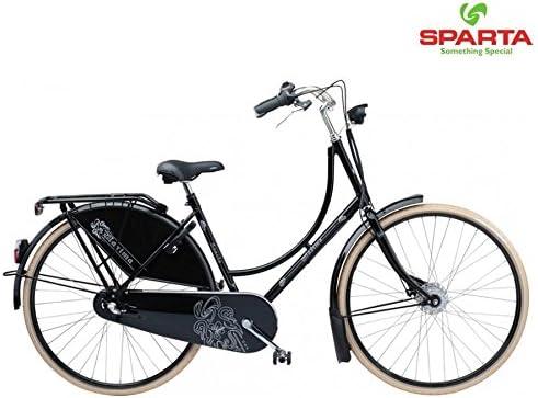 Sparta bicicleta holandesa Maxima Mujer RH.56 3 vrn Black: Amazon ...