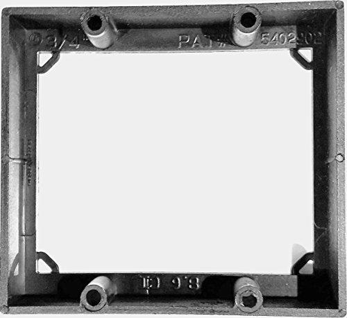 ReceptXtenders - Electrical Receptacle Box Extender - 3/4'' Double Gang Extender