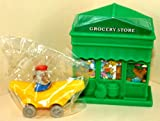 Bananas Gorilla Toy Vehicle and Grocery Store Play Building - 1995 McDonald's Happy Meal Toy