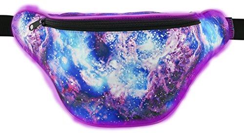 6f5981842d55 KANDYPACK Light Up Rave Fanny Pack with Hidden Pocket