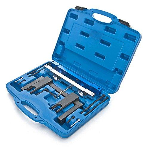 MOSTPLUS New Camshaft Crankshaft Alignment Timing Locking Tool Set for BMW N51 N52 N53 N54-12 Pieces