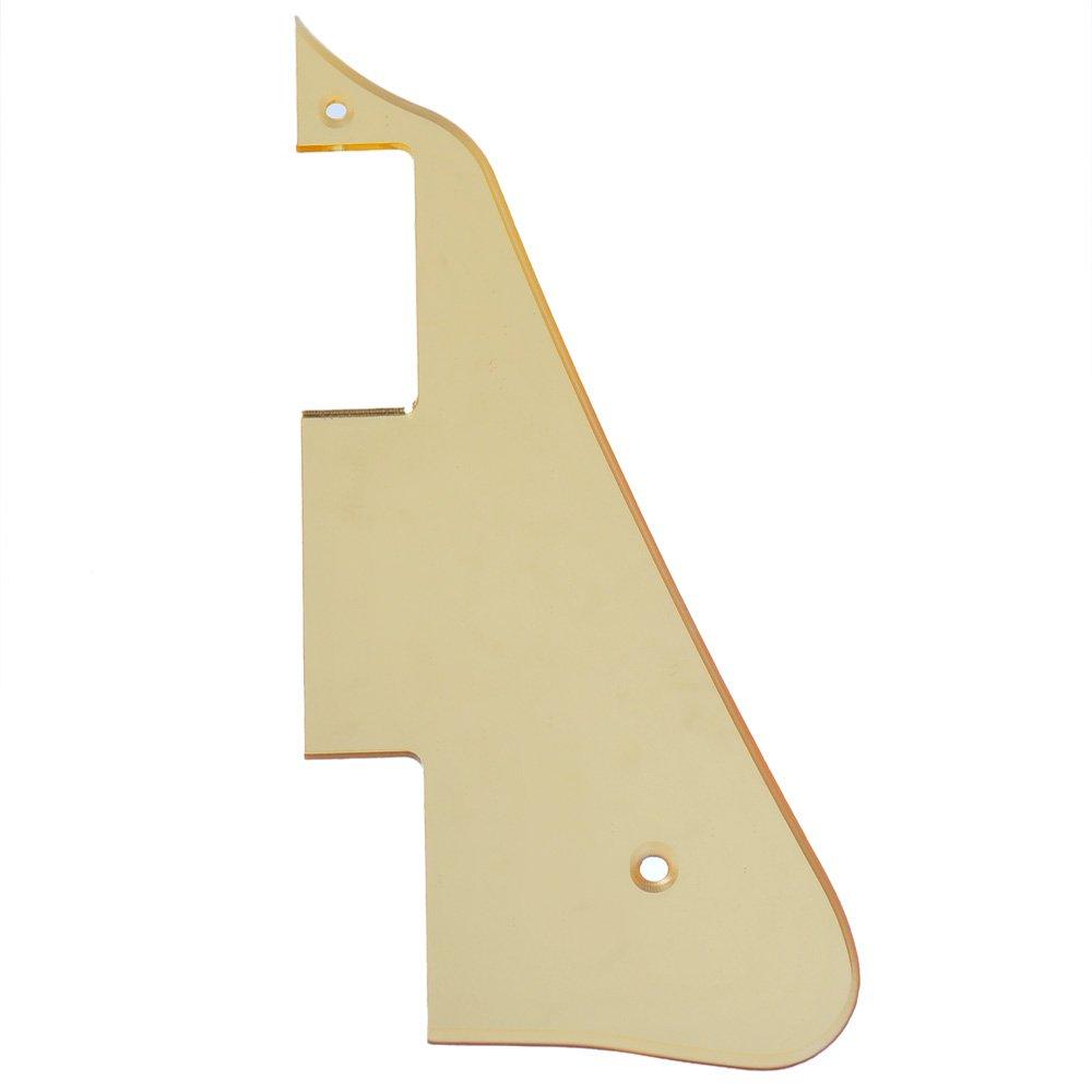 Kmise a5620ゴールドミラーエレキギターピックガードScratch Plate forギブソンLP交換用   B010FWM92O