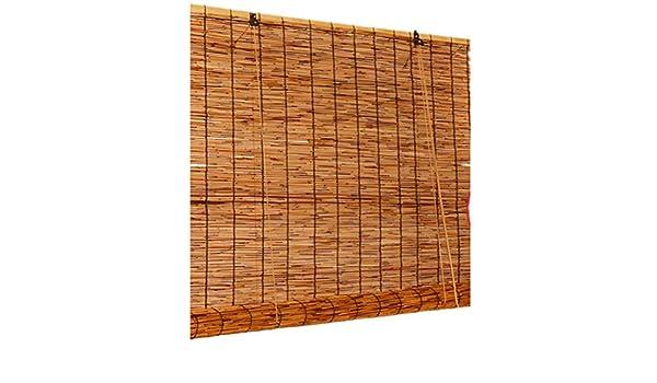 LUWEIL1LIAN persiana Enrollable de bambú Decorativa, sombrilla ...