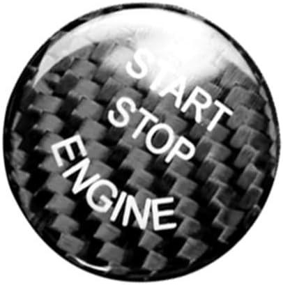 Start Stop Push Engine Switch Button Trim For BMW 3 Series E90 E92 E93 5 Series