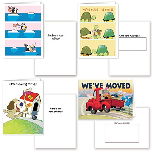 We've Moved, Change of Address Card Assorted Pack - 16 Ca...