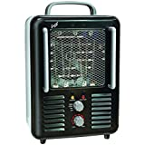 COMFORT ZONE CZ798BK Deluxe Milkhouse Heater/Fan Home & Garden Improvement