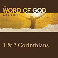 The Word of God: 1 & 2 Corinthians Audiobook by  Revised Standard Version Narrated by John Rhys Davies
