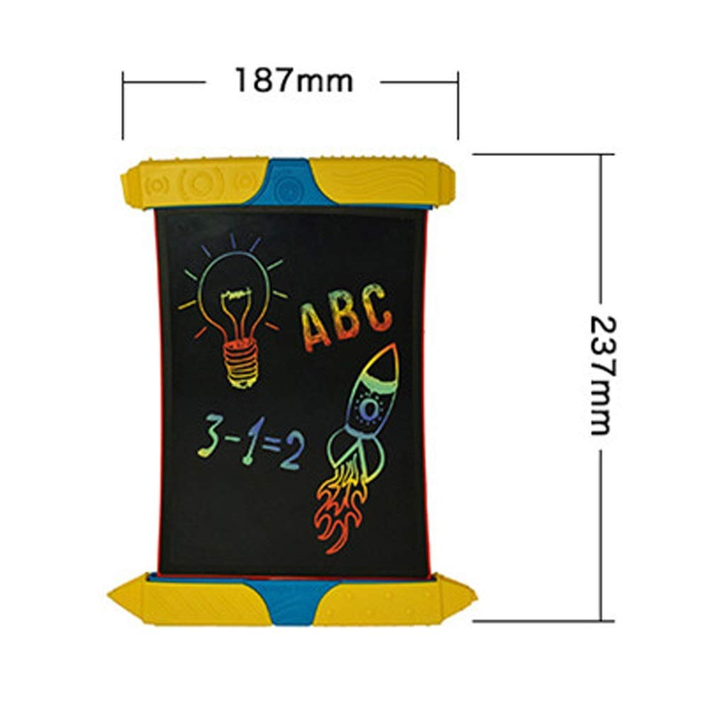 Hzna LCD Writing Board Smart Paper is Used to Draw Rainbow Handwriting Board Color Transparent Graffiti LCD Handwriting Board by Hzna (Image #3)